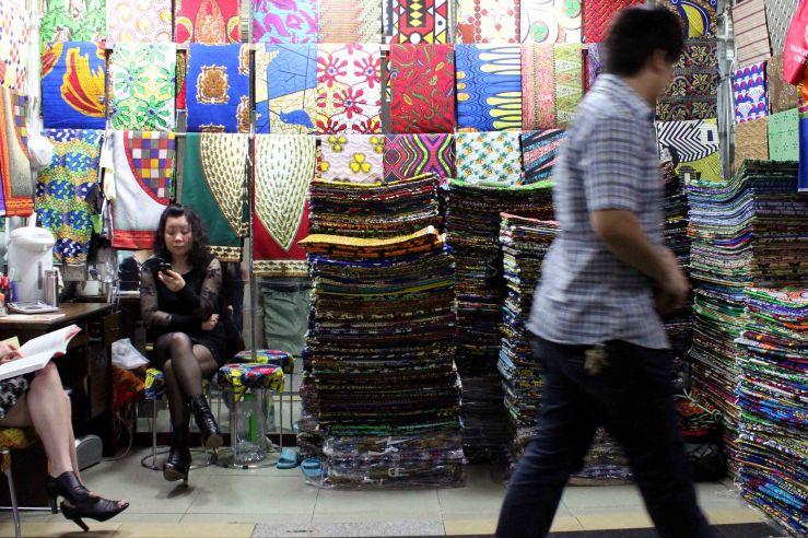 Fabrics on sale