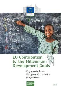 EU brochure on MDGs