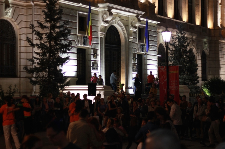 Bucharest celebrates